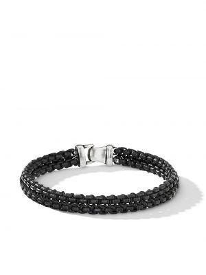 Нейлоновый браслет - черный David Yurman
