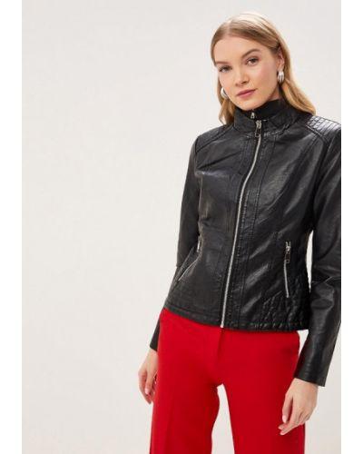 Кожаная куртка весенняя черная Adrixx