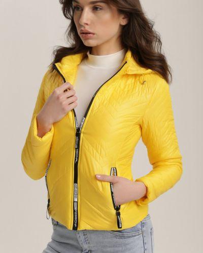 Żółta kurtka materiałowa Renee