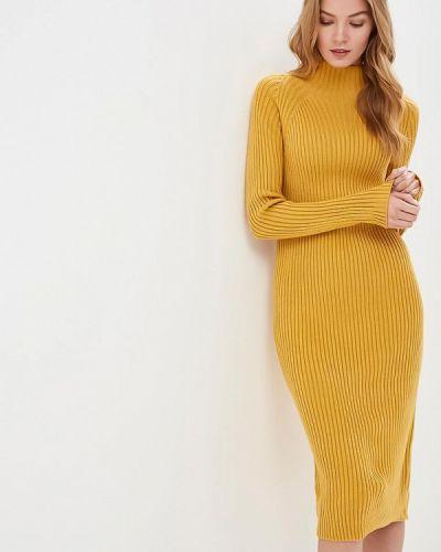 Платье весеннее желтый By Swan