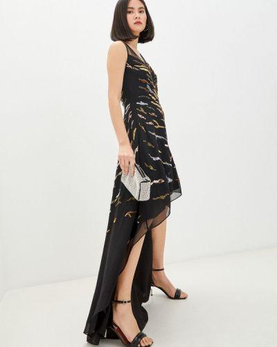 Черное вечернее платье Pinko