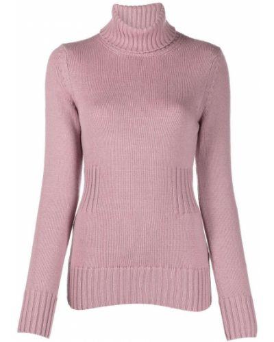 Розовая кофта с длинными рукавами Malo