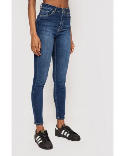Mom jeans - granatowe Na-kd