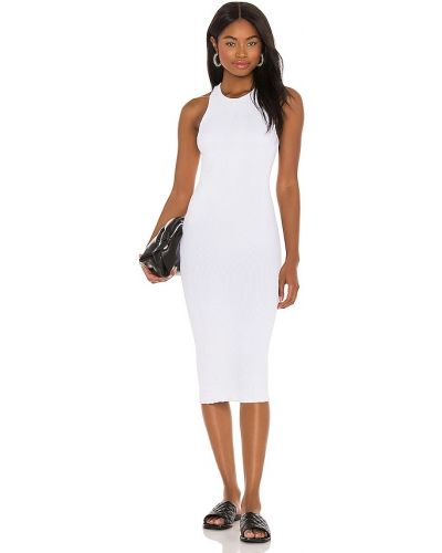 Biała sukienka z nylonu Bond Eye