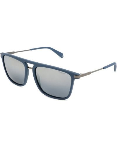 Niebieskie okulary Polaroid