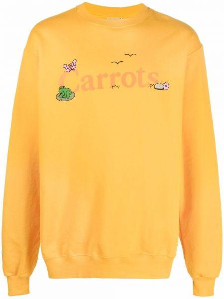 Żółta bluza z długimi rękawami Carrots