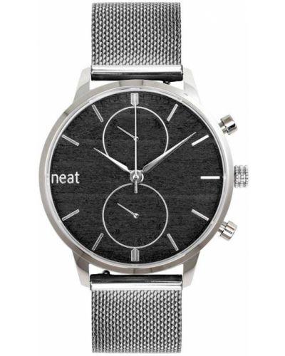 Zegarek kwarcowy srebrny Neat