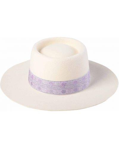 Fioletowa kapelusz wełniana Lack Of Color