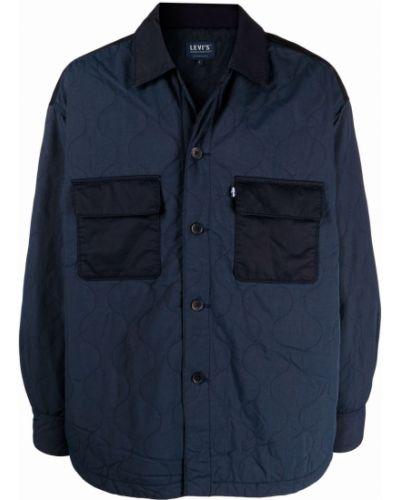 Синий хлопковый пиджак Levi's®  Made & Crafted™
