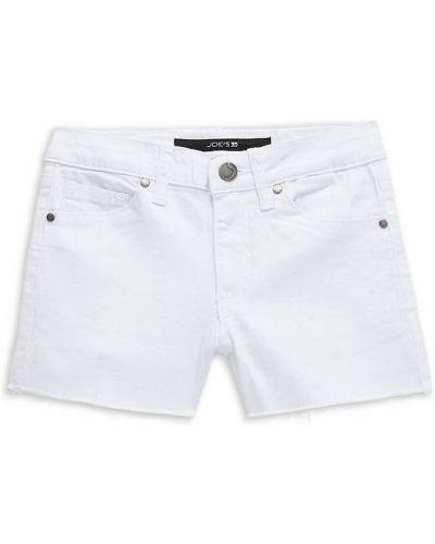 Хлопковые белые джинсы с карманами Joe's Jeans
