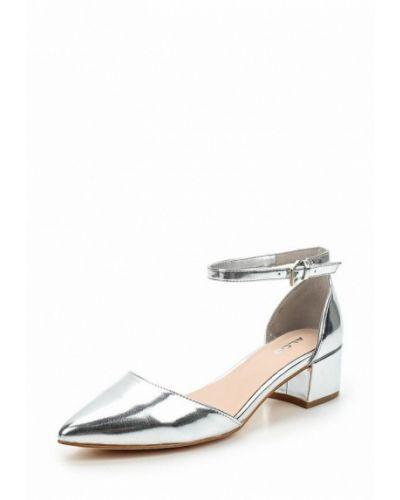 Туфли серебряного цвета Aldo