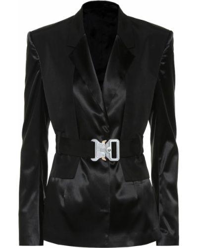 Сатиновый черный пиджак 1017 Alyx 9sm