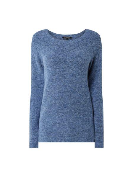 Sweter wełniany - niebieski Ilse Jacobsen