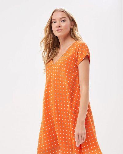 Оранжевое платье весеннее Compania Fantastica