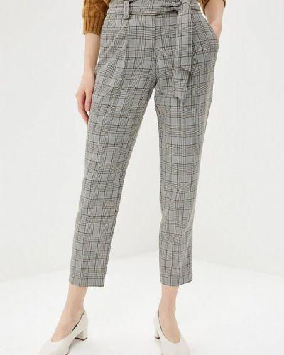 Серые брюки повседневные Dorothy Perkins