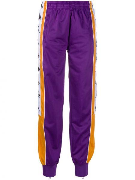 Фиолетовый спортивный костюм с карманами с манжетами Kappa