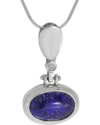 Серое ожерелье с подвесками с декоративной отделкой Den'o