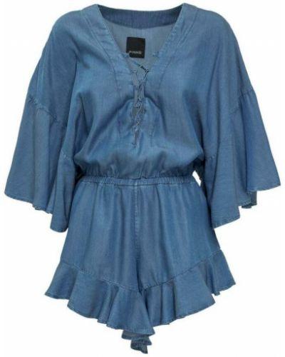 Niebieski garnitur Pinko