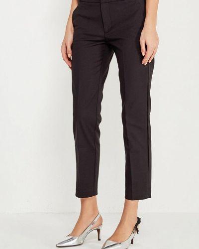 Черные зауженные брюки Mango