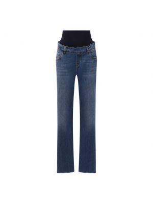 Синие джинсы из эластана Pietro Brunelli