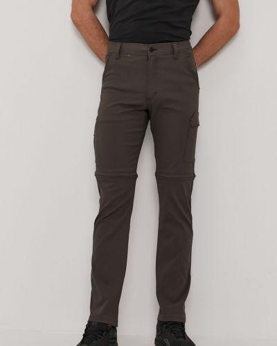 Zielone spodnie materiałowe Wrangler
