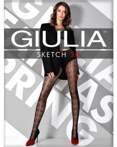Колготки с надписью Giulia