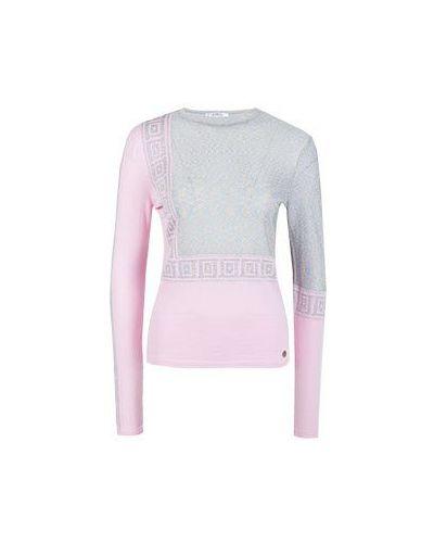 Джемпер розовый Versace Collection