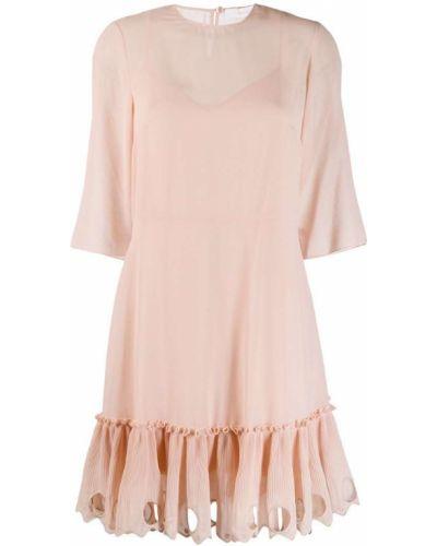 Платье розовое на пуговицах See By Chloé