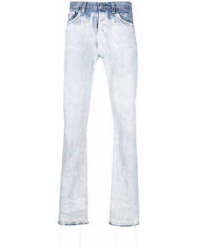 Białe klasyczne mom jeans Gallery Dept.