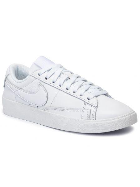 Blezer skórzany biały Nike