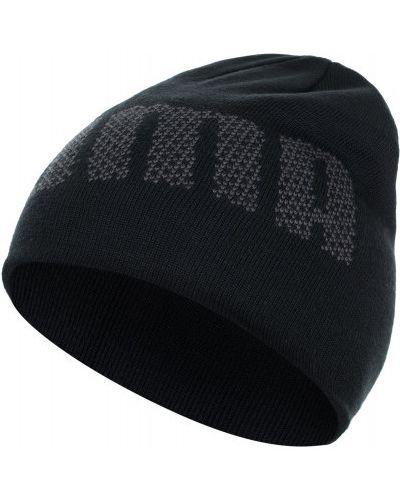 Черная шапка спортивная Puma
