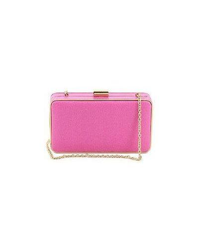 Клатч розовый Coccinelle