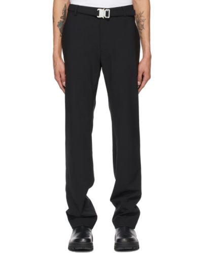 Костюмный шерстяной черный брючный костюм 1017 Alyx 9sm