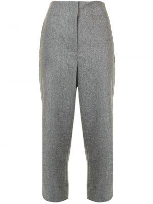 Серые брюки с карманами Proenza Schouler
