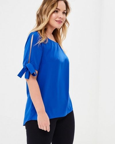 Блузка - синяя Wersimi