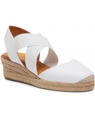 Sandały espadryle - białe Unisa