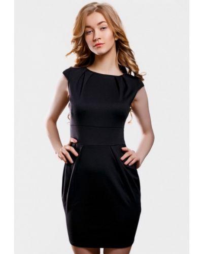 Черное платье весеннее Sfn