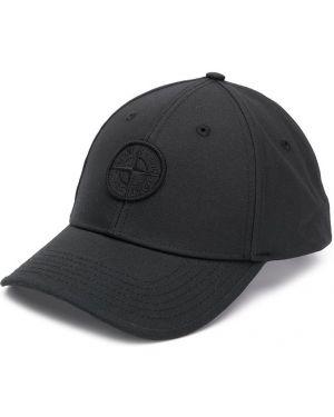 Czapka z logo czarny Stone Island Junior