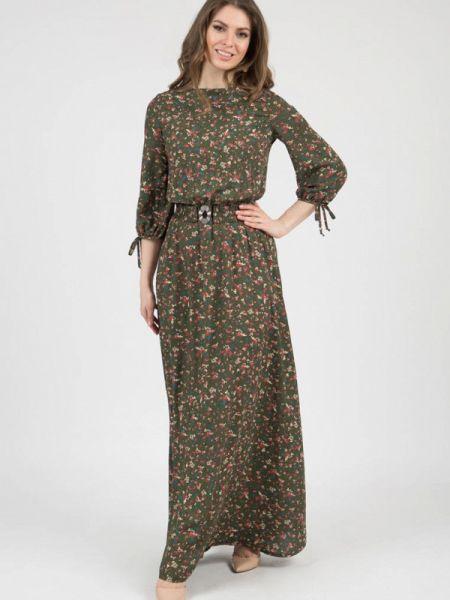 Платье - зеленое Olivegrey