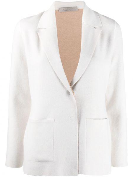С рукавами шерстяной удлиненный пиджак двусторонний с лацканами D.exterior
