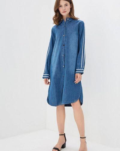 Джинсовое платье весеннее синее Sweewe