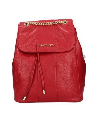Czerwony plecak Love To Love