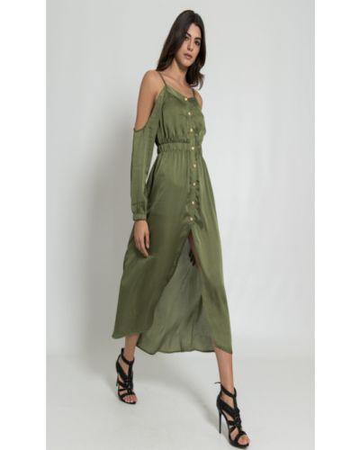 Платье весеннее зеленый Silvian Heach