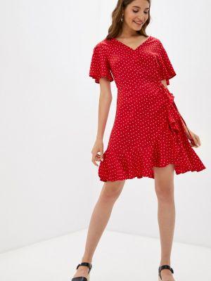 Красное платье с запахом Colin's