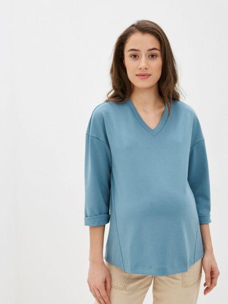 Пуловер - бирюзовый Budumamoy