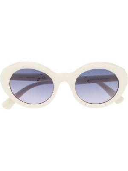 Муслиновые солнцезащитные очки хаки Diesel