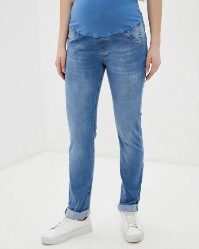 Зауженные джинсы - голубые Budumamoy