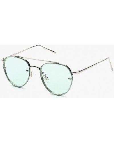 Солнцезащитные очки серебряного цвета Kawaii Factory