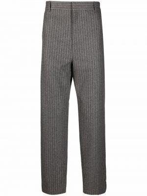 Spodnie z wiskozy - beżowe Acne Studios