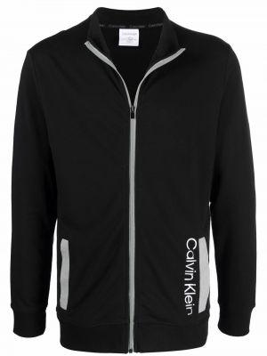 Czarny sweter bawełniany Calvin Klein Underwear